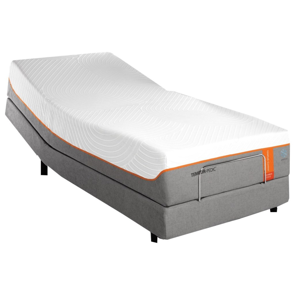 Tempur Pedic Tempur Contour Elite Breeze 10290220 25558120 Twin