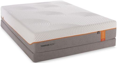 Tempur-Pedic® TEMPUR-Contour Elite Twin Extra Long Medium-Firm Mattress and Low Profile Foundation