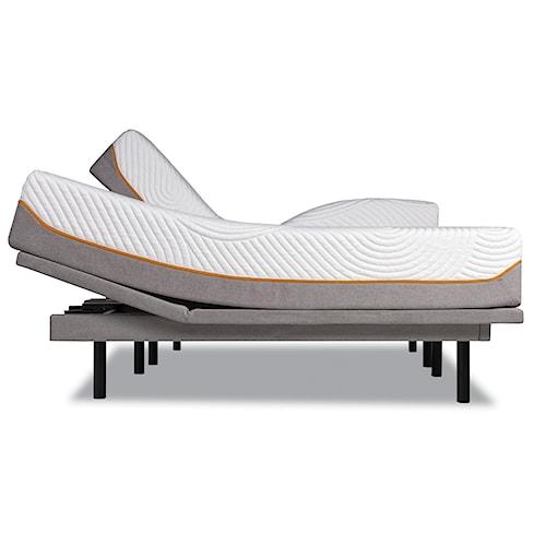 Tempur-Pedic® TEMPUR-Contour Elite Twin Extra Long Medium-Firm Mattress and TEMPUR-Ergo™ Plus Adjustable Foundation