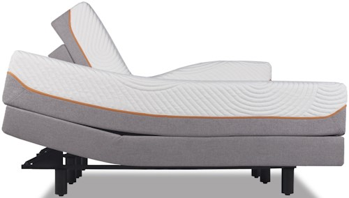 Tempur-Pedic® TEMPUR-Contour Elite Twin Extra Long Medium-Firm Mattress and TEMPUR-Ergo™ Premier Adjustable Base