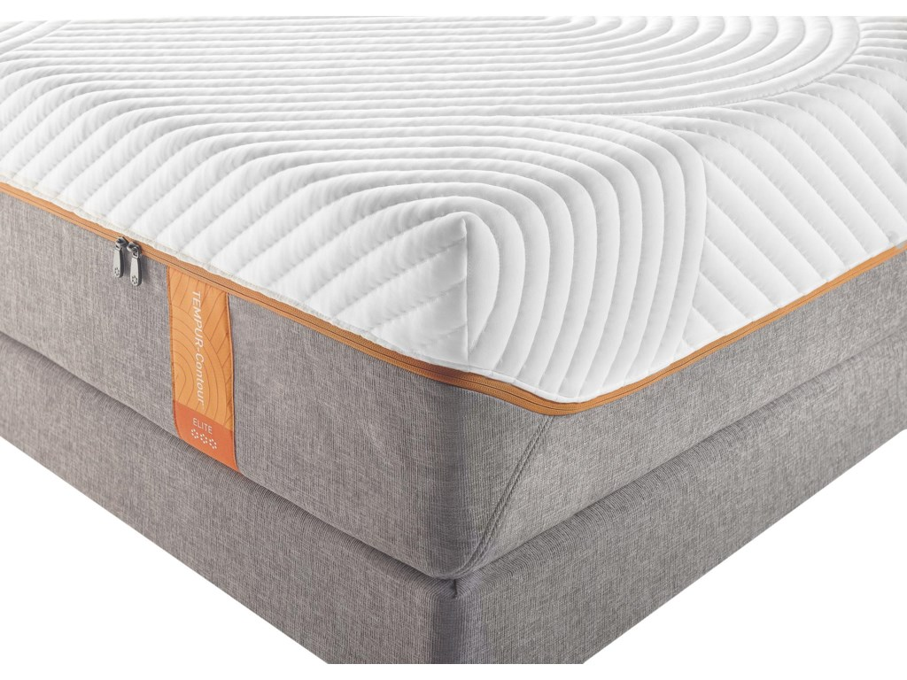 Tempur-Pedic® TEMPUR-Contour EliteKing Medium-Firm Mattress Set