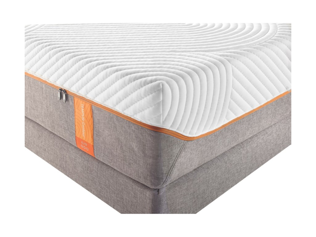 Tempur-Pedic® TEMPUR-Contour EliteQueen Medium-Firm Mattress Set