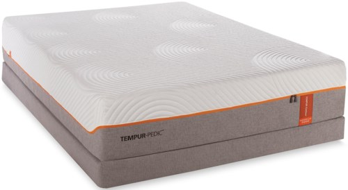Tempur-Pedic® TEMPUR-Contour Rhapsody Luxe Twin Extra Long Mattress and LP Grey Foundation