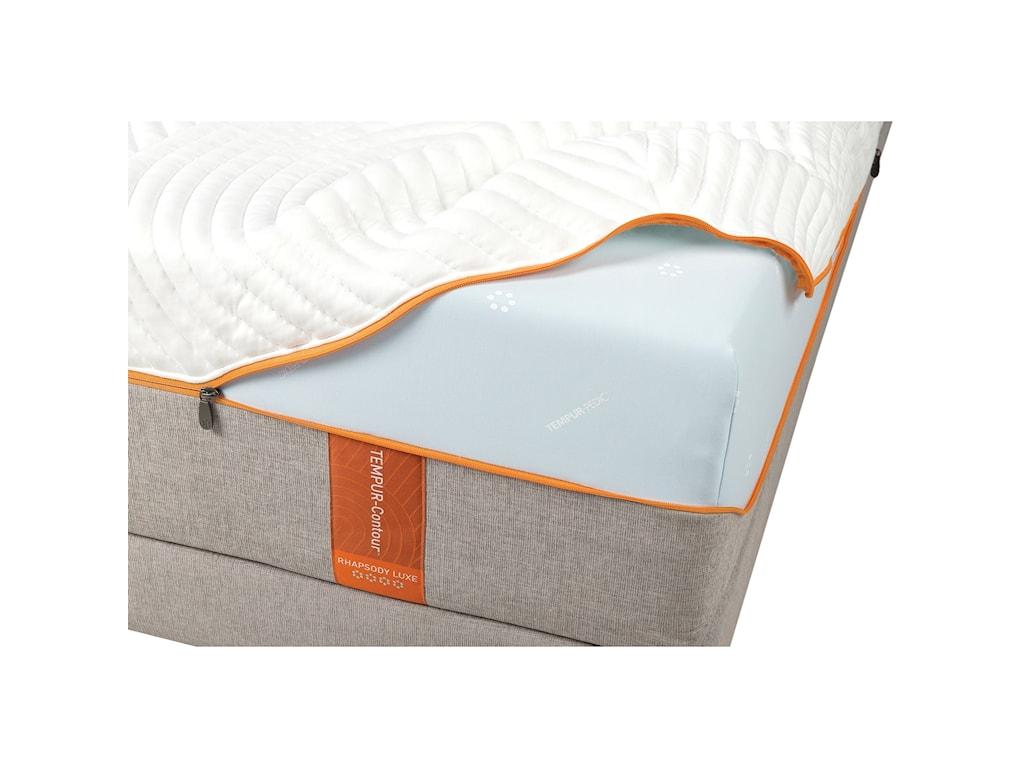 Tempur-Pedic® TEMPUR-Contour Rhapsody LuxeQueen Medium-Firm Mattress Set