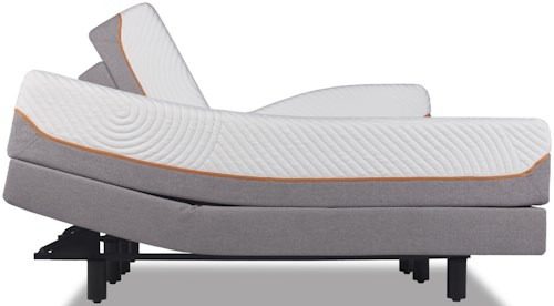 Tempur-Pedic® TEMPUR-Contour Rhapsody Luxe King Medium Firm Mattress and TEMPUR-Ergo™ Premier Adjustable Foundation