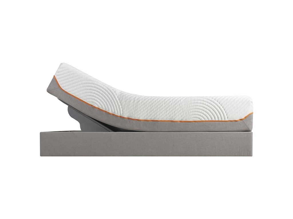 Tempur-Pedic® Cal Kg Medium Firm Mattress, Adj Set