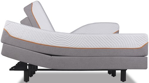 Tempur-Pedic® TEMPUR-Contour Supreme Twin Extra Long Firm Mattress and TEMPUR-Ergo™ Premier Adjustable Foundation