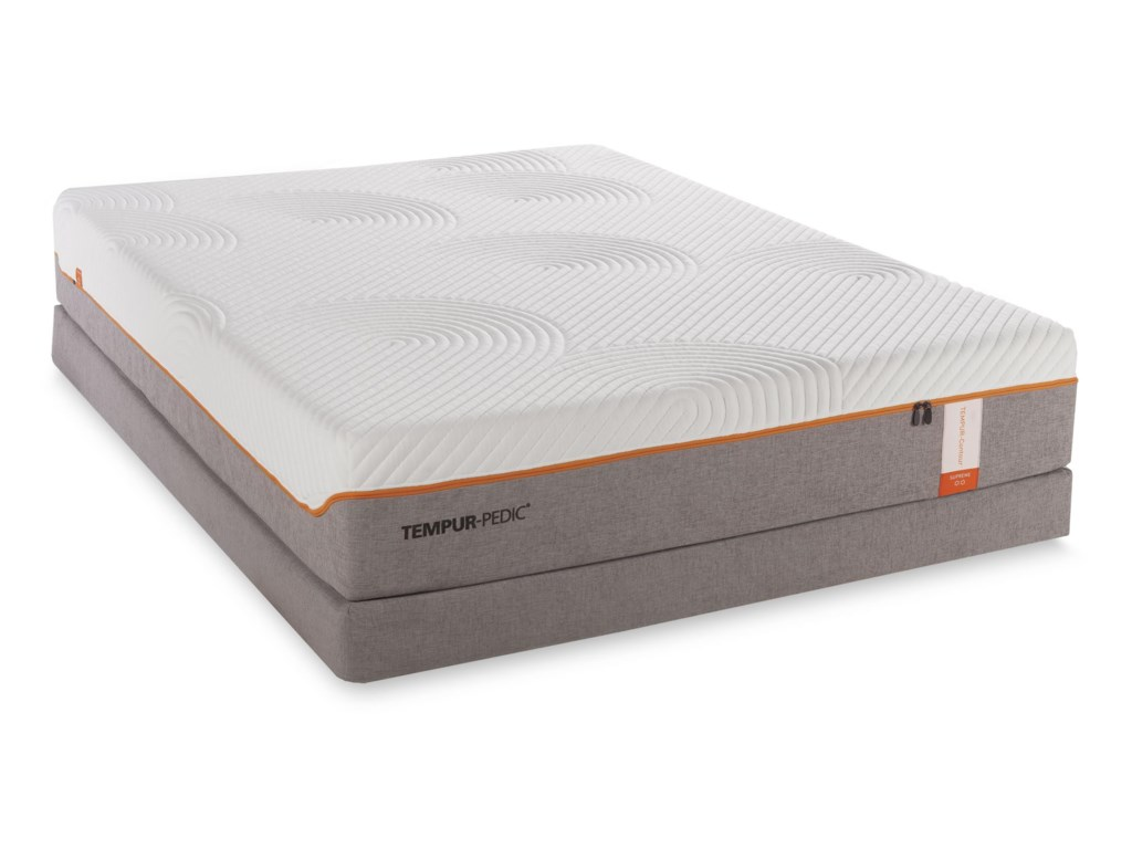 Tempur-Pedic® TEMPUR-Contour SupremeTwin XL Firm Mattress Set
