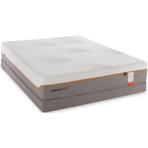 Tempur-Pedic® TEMPUR-Contour Supreme Twin Extra Long Firm Mattress and Low Profile Foundation