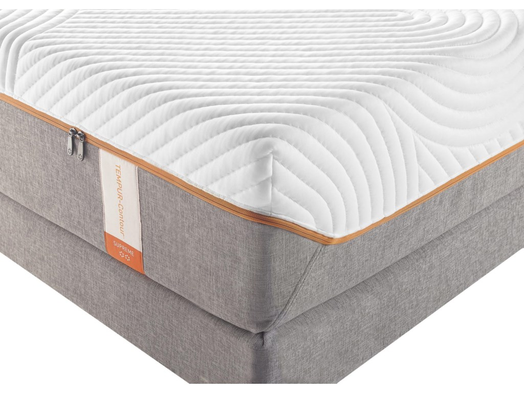Tempur-Pedic® TEMPUR-Contour SupremeKing Firm Mattress Set