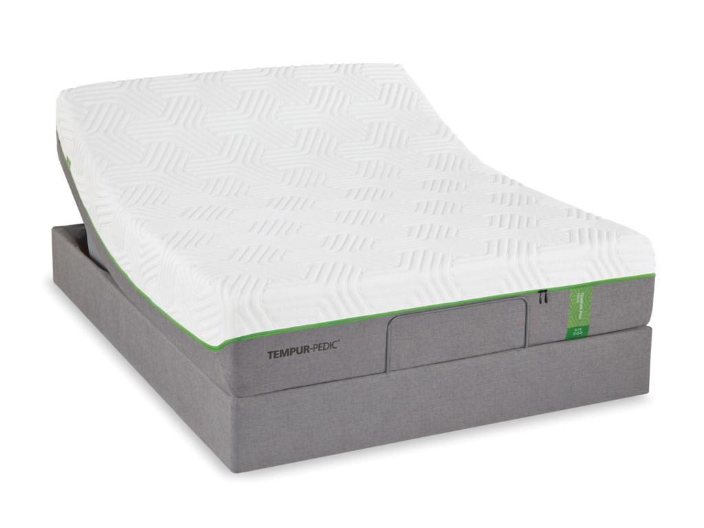 Tempur-Pedic® TEMPUR-Flex EliteQueen Medium Soft Plush Mattress Set