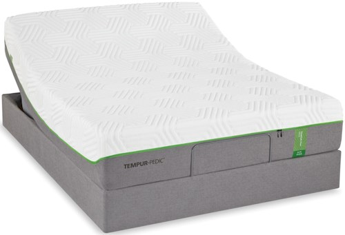 Tempur-Pedic® TEMPUR-Flex Elite Full Medium Soft Plush Mattress and TEMPUR-Up Adjustable Foundation