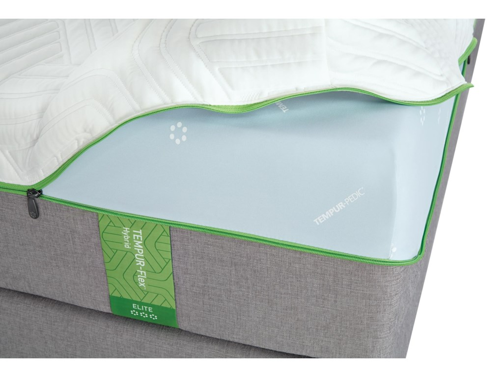 Tempur-Pedic® TEMPUR-Flex EliteQueen Medium Soft Plush Adj Set