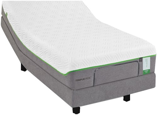 Tempur-Pedic® TEMPUR-Flex Elite Queen Medium Soft Plush Mattress and TEMPUR-Ergo Premier Adjustable Base
