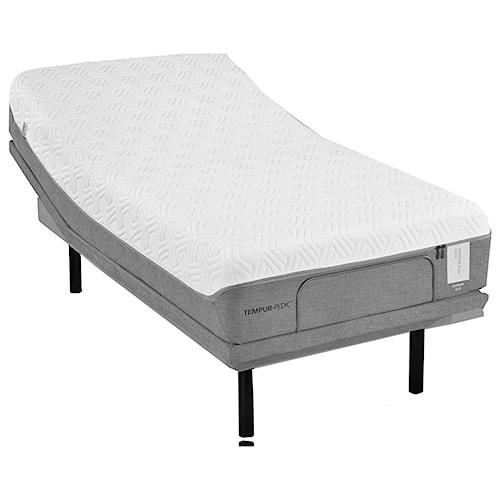 Tempur-Pedic® TEMPUR-Flex Elite Cal King Medium Soft Plush Mattress and TEMPUR-Ergo Plus Adjustable Base