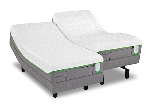 Tempur-Pedic® TEMPUR-Flex Prima Twin Medium Firm Mattress and Tempur-Ergo Plus Adjustable Foundation
