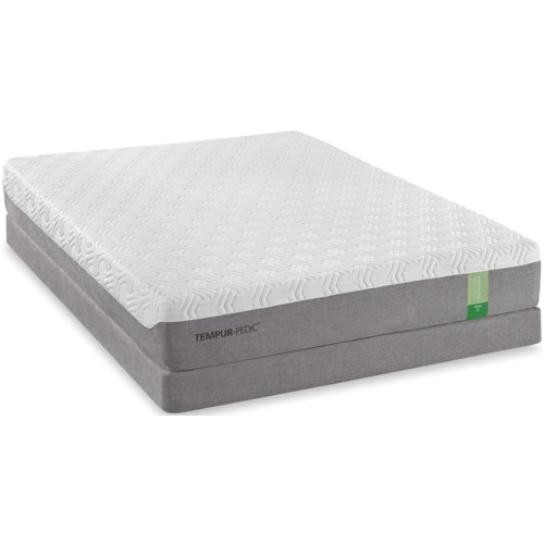 Tempur-Pedic® TEMPUR-Flex Prima Twin Extra Long Medium Firm Mattress and Low Profile Foundation