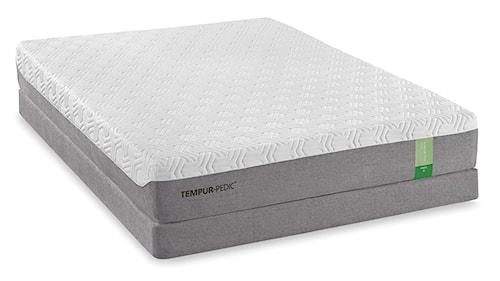 Tempur-Pedic® TEMPUR-Flex Prima Full Medium Firm Mattress and Low Profile Foundation