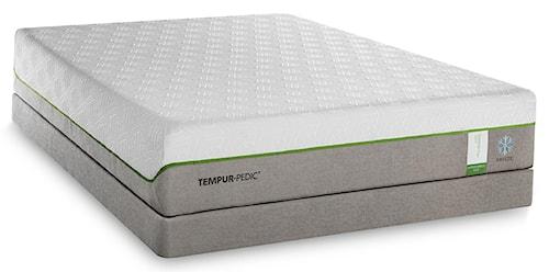 Tempur-Pedic® TEMPUR-Flex Supreme Breeze Twin Extra Long Medium Plush Mattress and TEMPUR-Up Adjustable Foundation