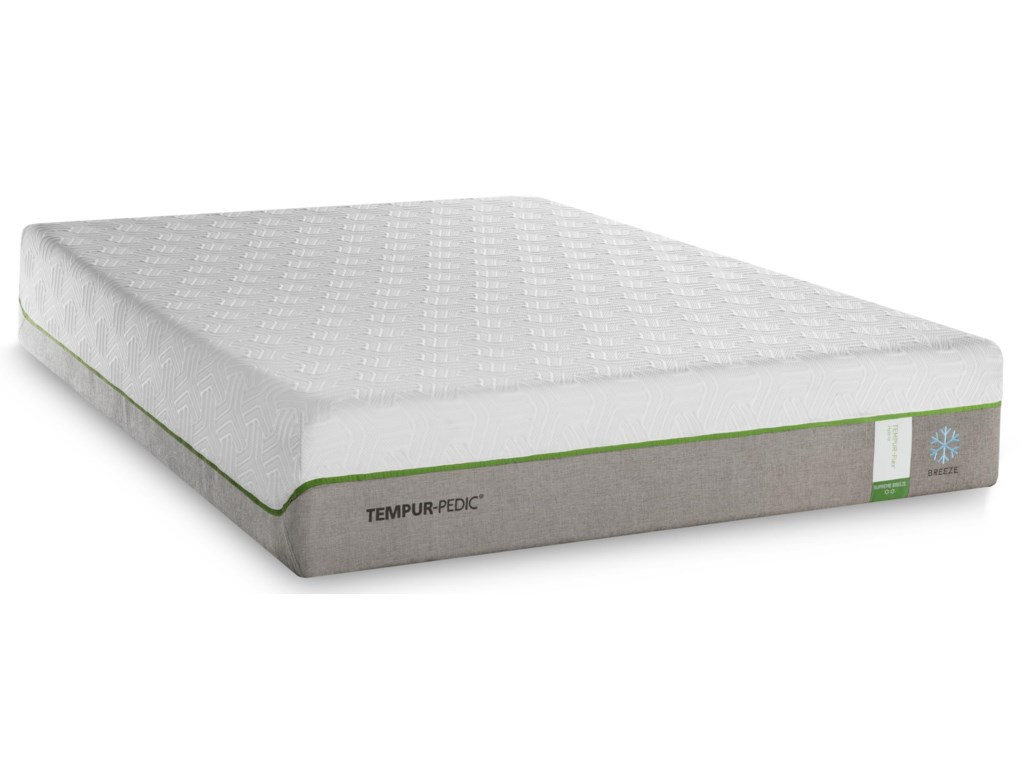 Tempur-Pedic® TEMPUR-Flex Supreme BreezeCal King Medium Plush Adj Set