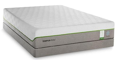 Tempur-Pedic® TEMPUR-Flex Supreme Breeze Full Medium Plush Mattress and TEMPUR-Up Adjustable Foundation