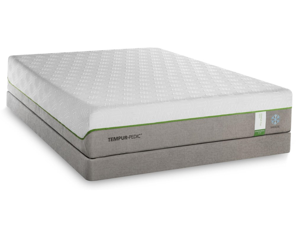 Tempur-Pedic® TEMPUR-Flex Supreme BreezeCalifornia King Medium Plush Matt Set, LP