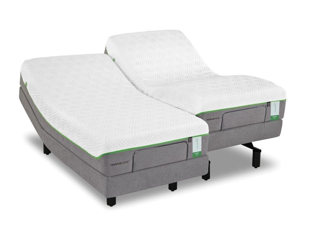 Tempur-Pedic® King Medium Plush Mattress Set