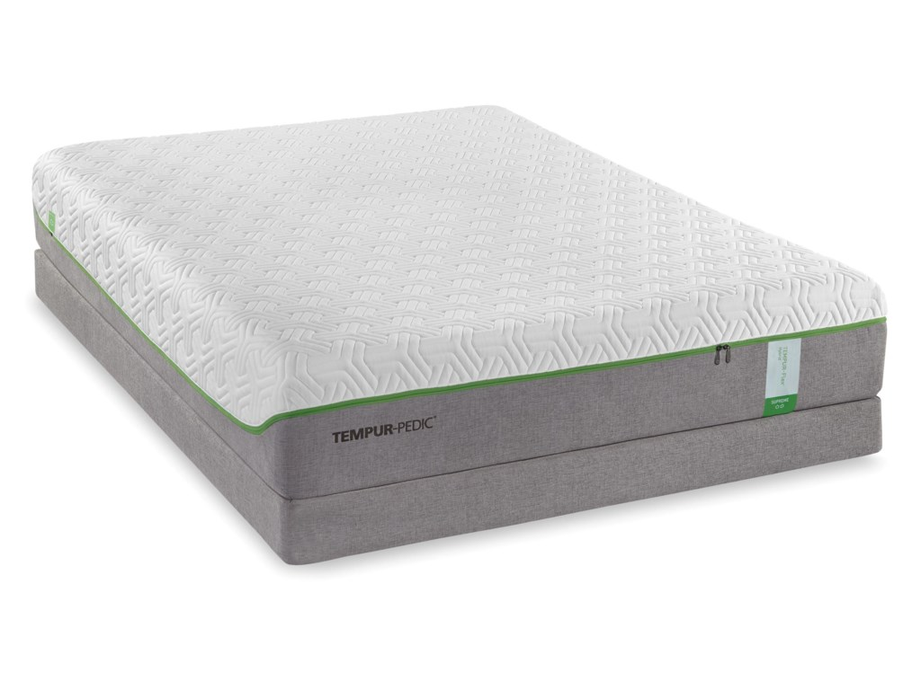 Tempur-Pedic® TEMPUR-Flex SupremeCal King Medium Plush Mattress Set