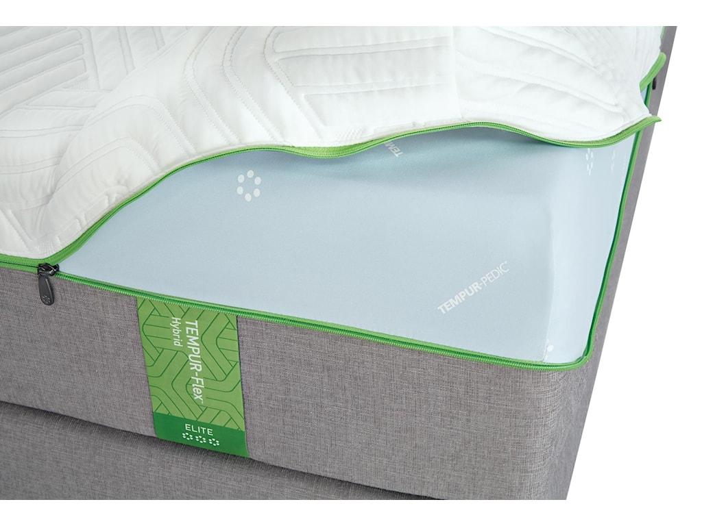 Tempur-Pedic® Queen Medium Plush Mattress Set