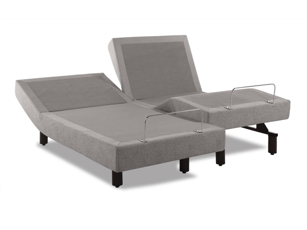 This Image Shows Two Twin XL Adjustable Bases;  Queen Size Priced as One Piece Base;  A Split Queen Base is Available at an Up Charge