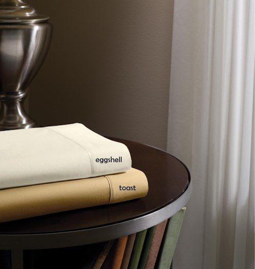 Tempur-Pedic® Dimension III Toast Split King Sheet Set