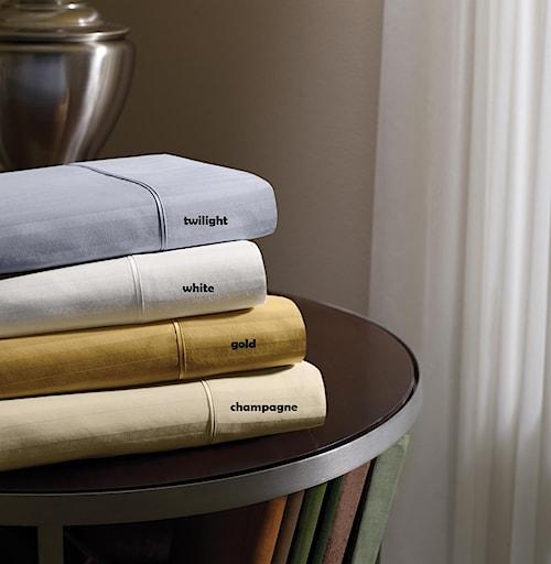 Tempur-Pedic® Dimension IV White Full XL Sheet Set