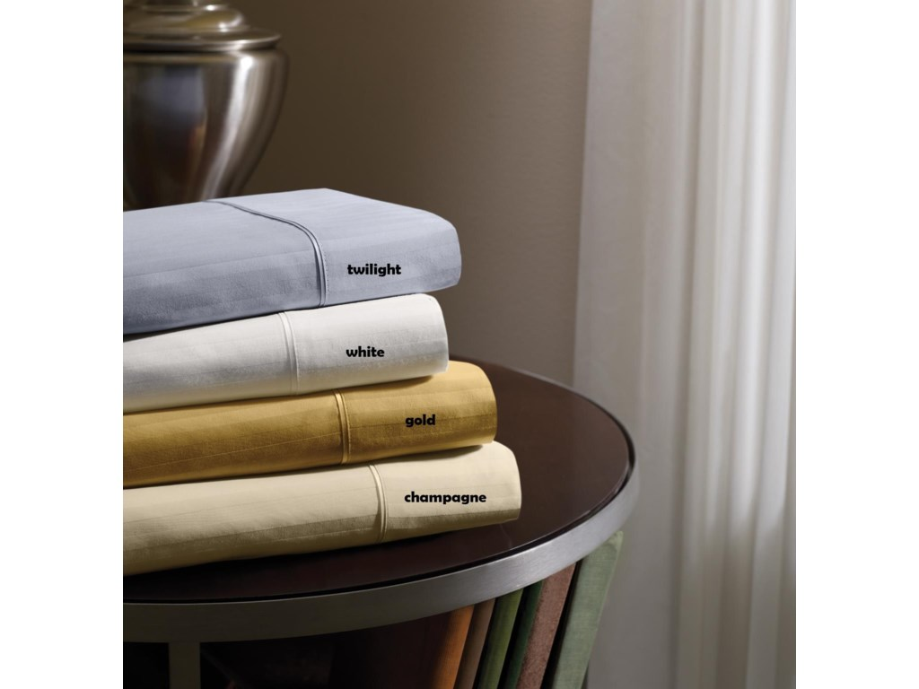 Tempur-Pedic® Dimension IVTempur-Pedic White Queen Sheet Set