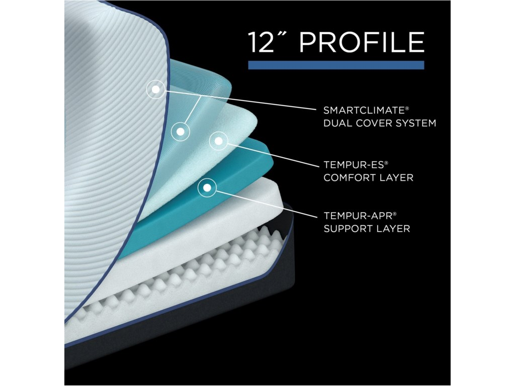 Tempur-Pedic® TEMPUR-PROADAPT™ SoftSplit King TEMPUR-PROADAPT™ Soft Mattress