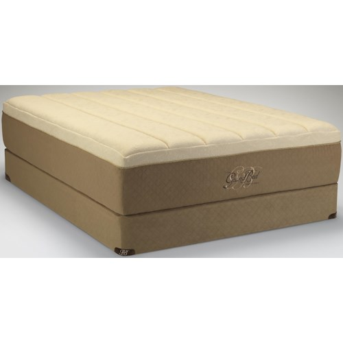 Tempur-Pedic® The GrandBed Queen Medium-Soft Mattress and High Profile Foundation