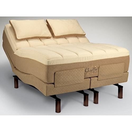Tempur-Pedic® The GrandBed King Medium-Soft Mattress and Tempur-Ergo Grand Adjustable Base