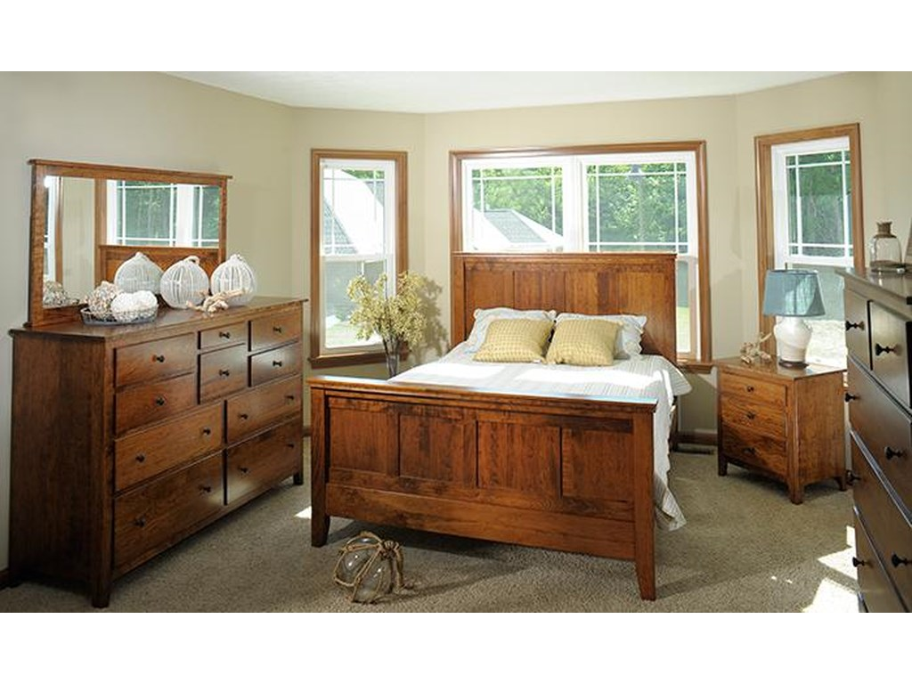 The Urban Collection Jamestown SquareCalifornia King Panel Bed