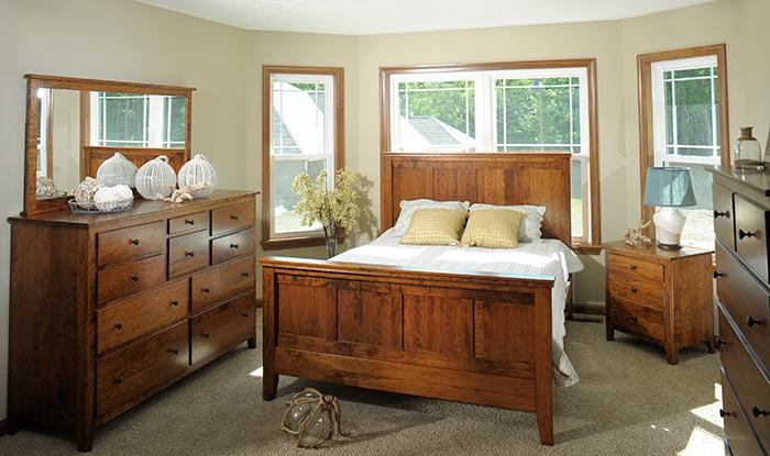 Yutzy - Urban Collection Jamestown SquareCalifornia King Panel Bed