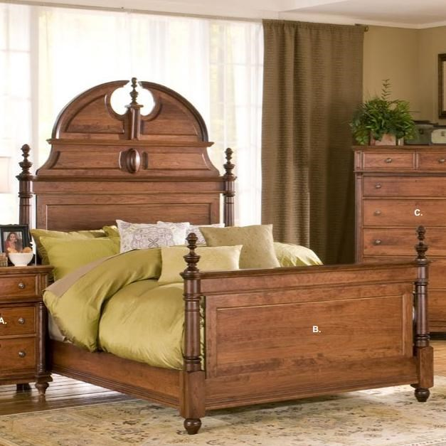 Yutzy   Urban Collection MonticelloQueen Manor Bed