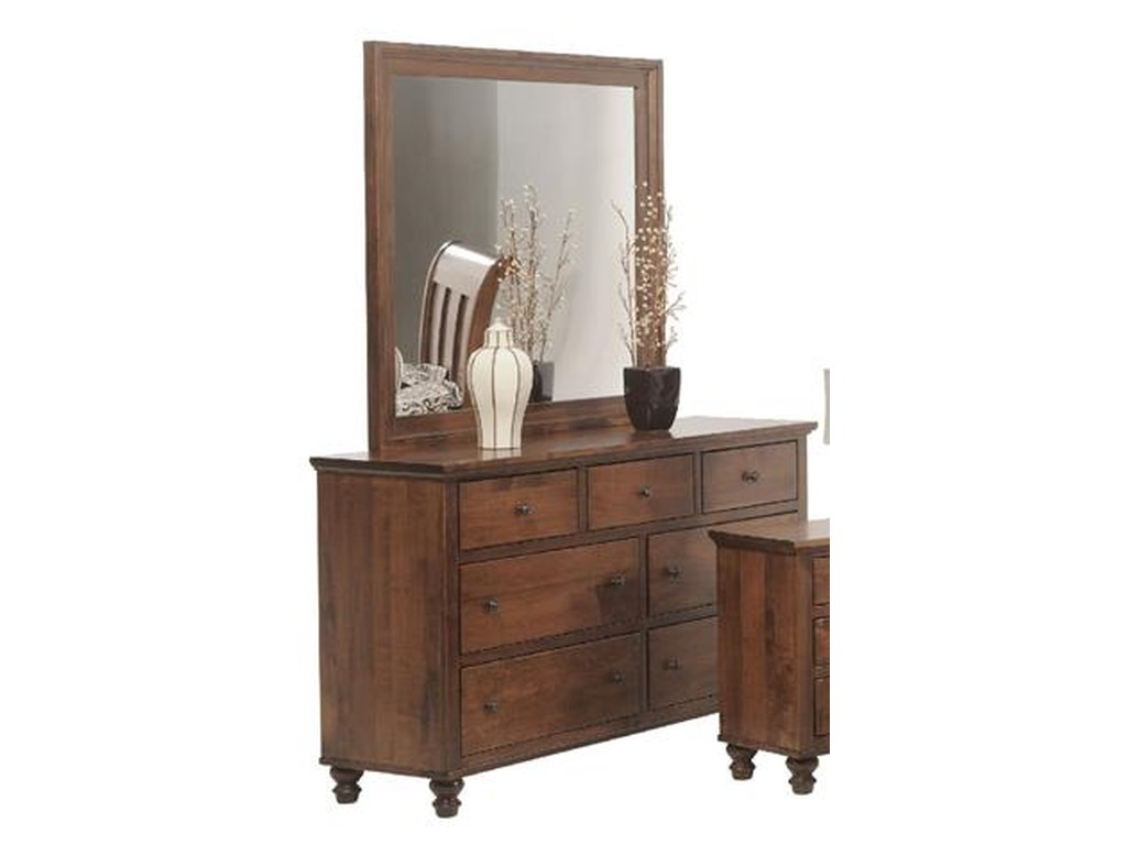 Wrightsville Dresser And Mirror By Yutzy Urban Collection