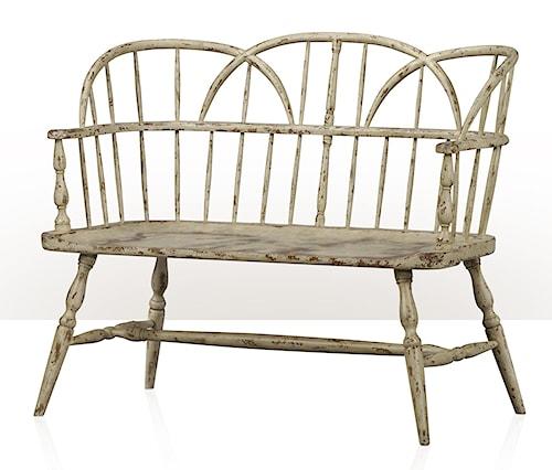 Theodore Alexander 1783 Hoop-Back Bench