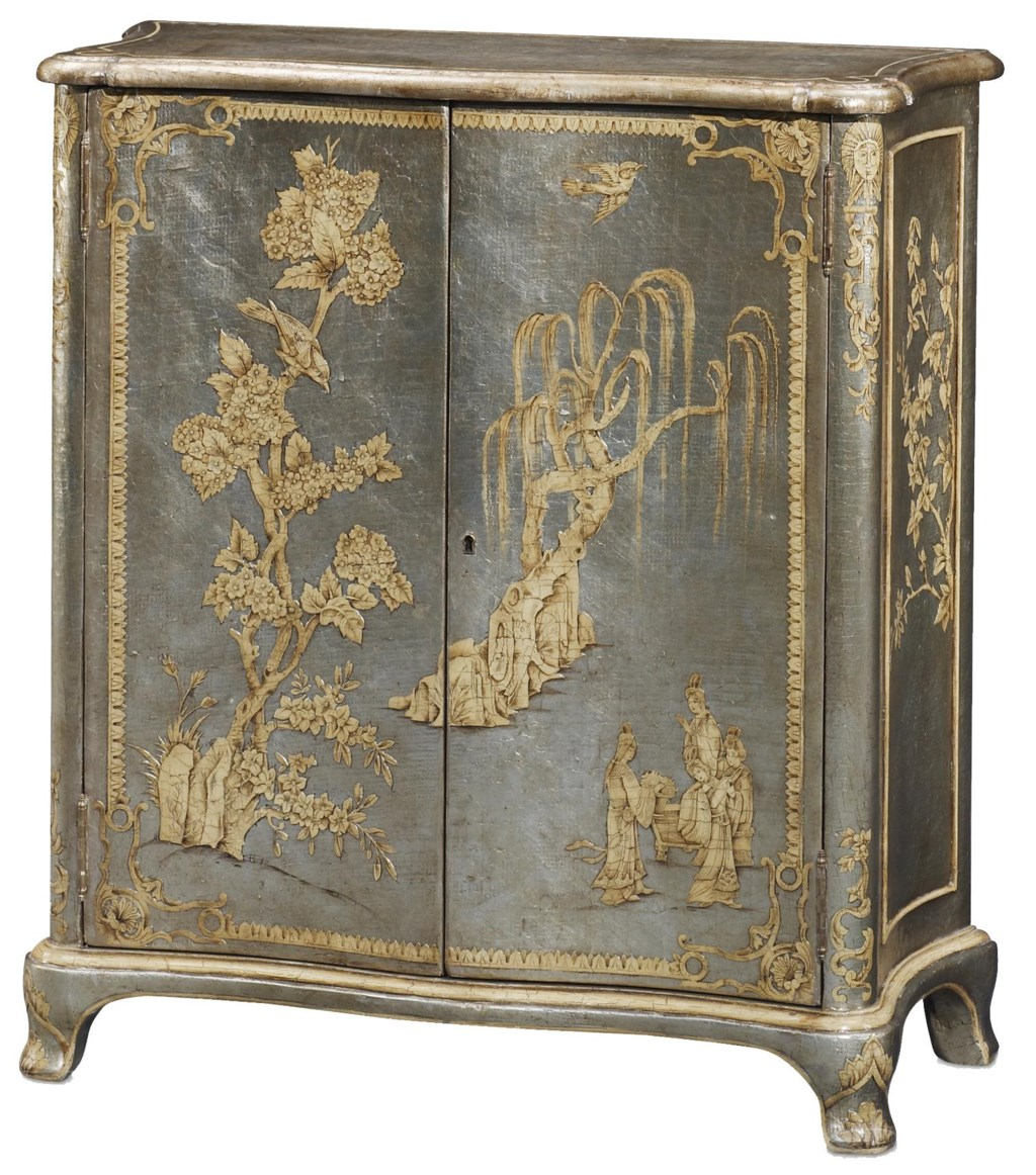 theodore alexander argento blossom chinoiserie cabinet baer u0027s