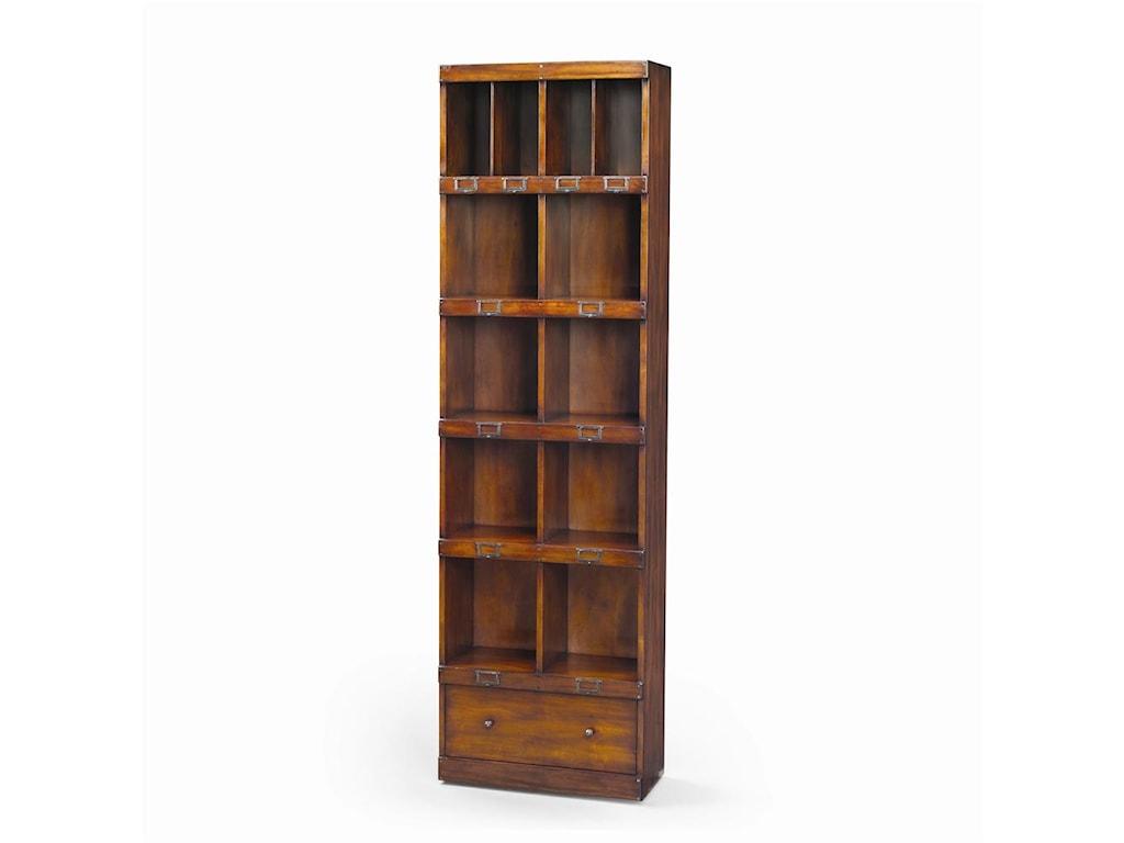 Theodore Alexander BookcasesVictorian Walnut Campaign Office Bookcase