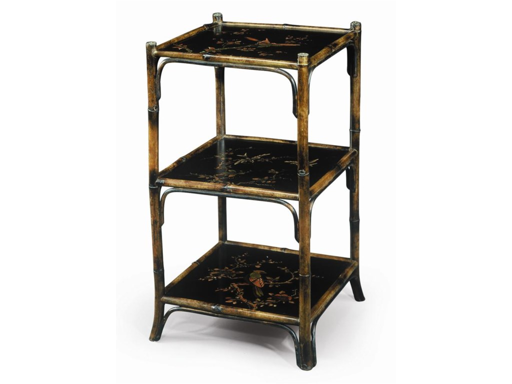 Theodore Alexander BookcasesChinoiserie Hand Painted Etagere