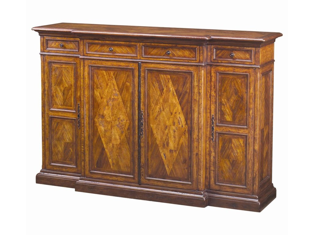 Traditional Brunello Tall Sideboard. Theodore Alexander at Baer s Furniture   Ft  Lauderdale  Ft  Myers