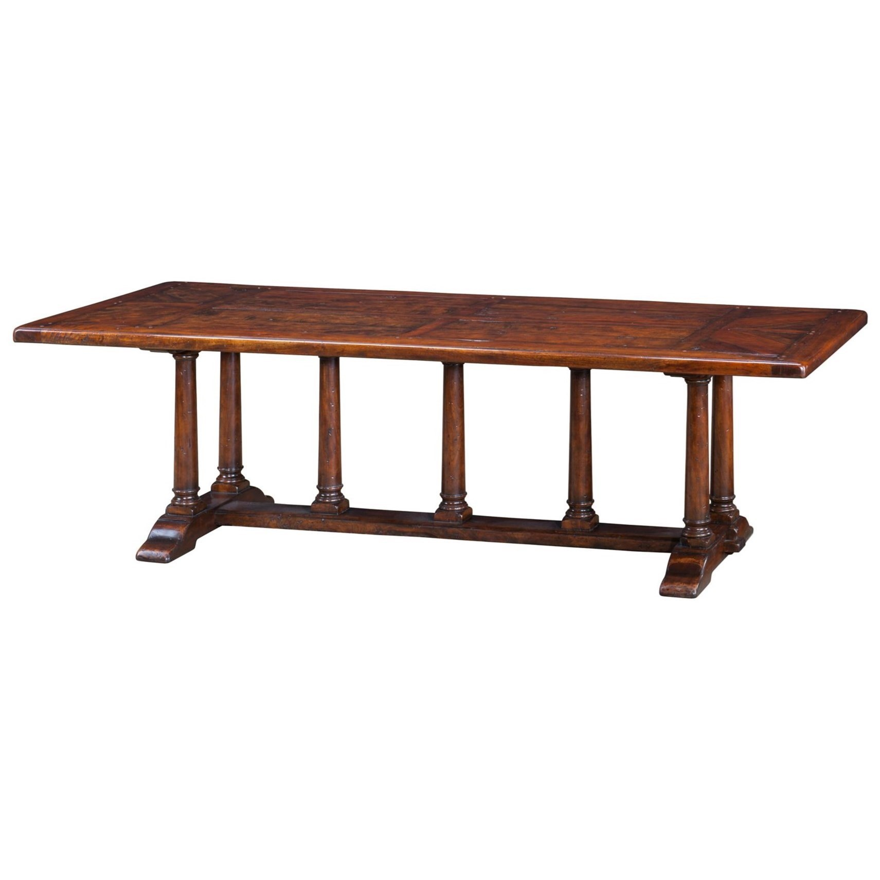 theodore alexander castle bromwich a mellow classic dining table baeru0027s furniture dining tables
