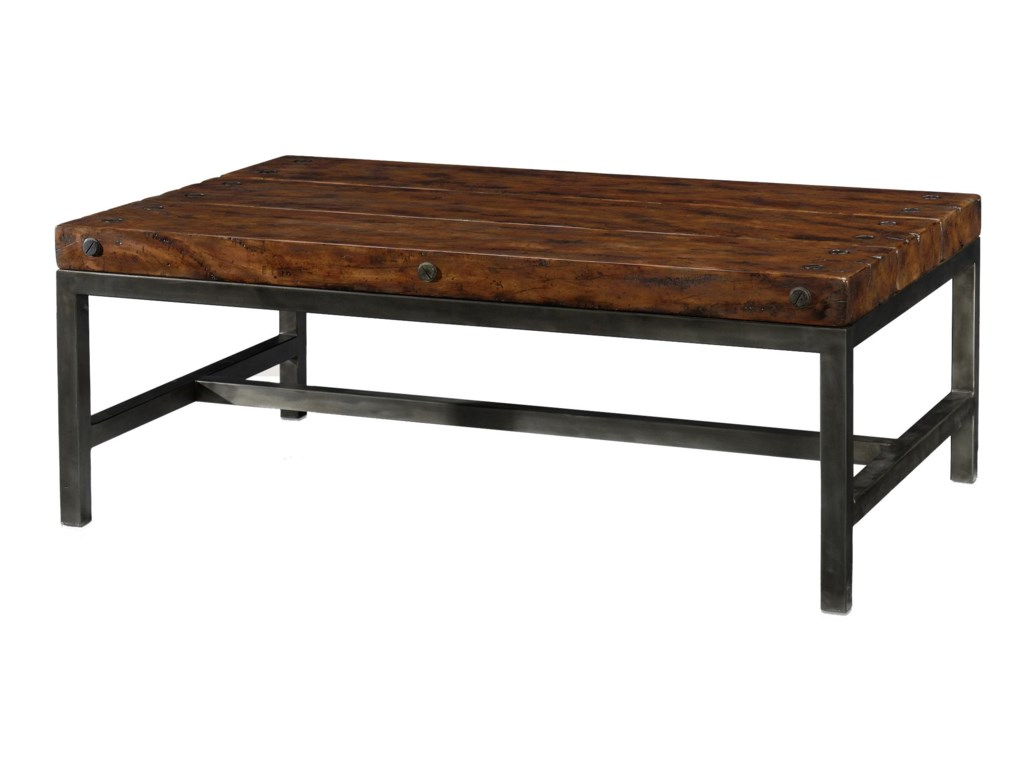 Theodore Alexander Classic yet CasualRectangular Cocktail Table