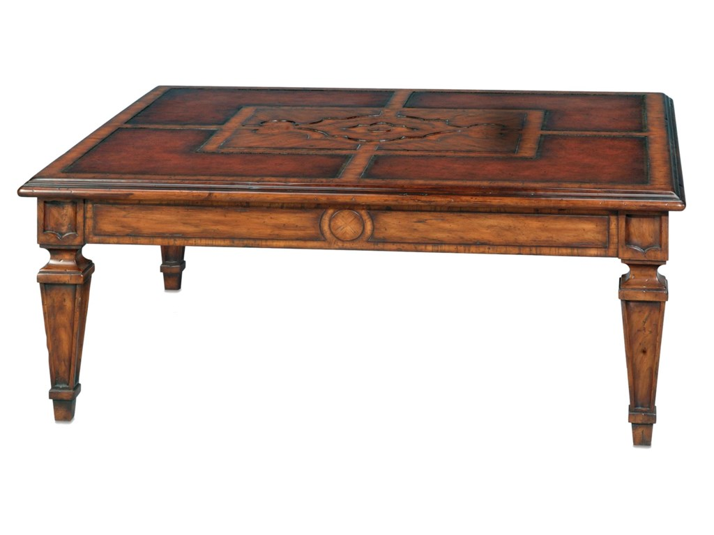 Theodore Alexander Classic yet CasualItalian Garden Cocktail Table
