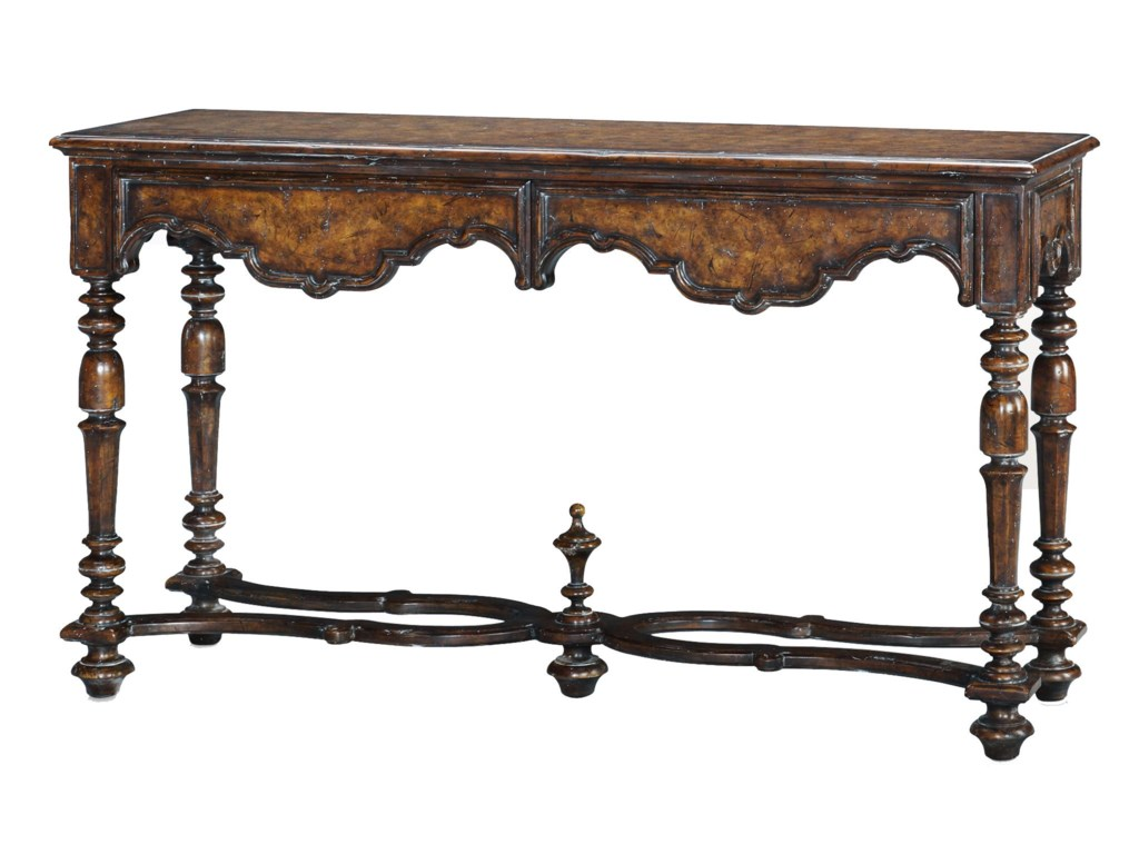 Theodore Alexander Classic yet CasualItalian Villa Console Table