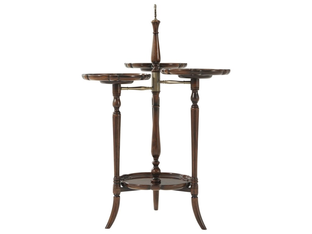 Theodore Alexander Essential TAGeorgian Trio Display Stand